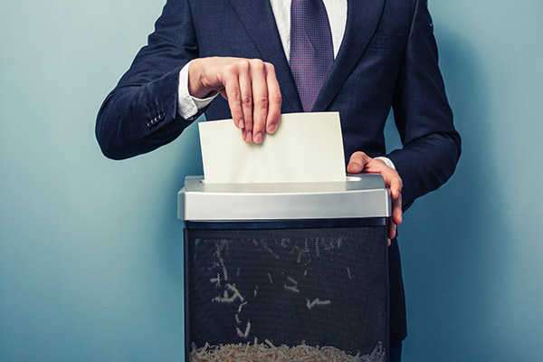 3 reasons to get rid of your paper shredding equipment
