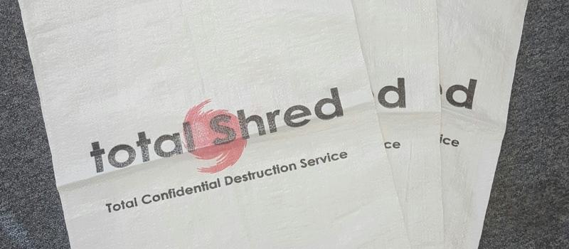 Total Shred Shredding Sacks